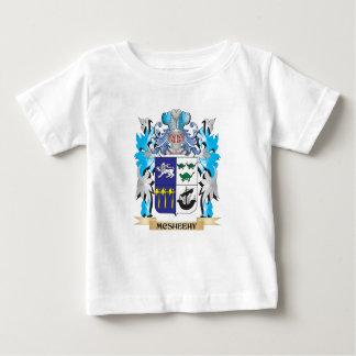 Escudo de armas de Mcsheehy - escudo de la familia T-shirt