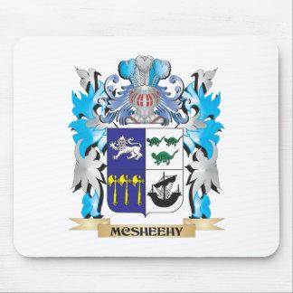 Escudo de armas de Mcsheehy - escudo de la familia Tapetes De Ratón
