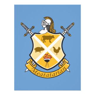 Escudo de armas de Meatatarian Tarjeton