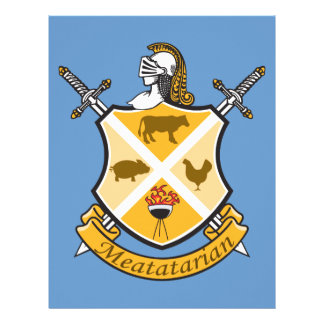 Escudo de armas de Meatatarian Membrete