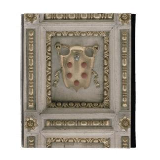 Escudo de armas de Medici, del sofito de la iglesi