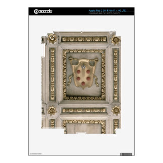 Escudo de armas de Medici, del sofito de la iglesi iPad 3 Pegatinas Skins