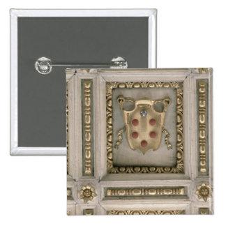Escudo de armas de Medici, del sofito de la iglesi Pin Cuadrado