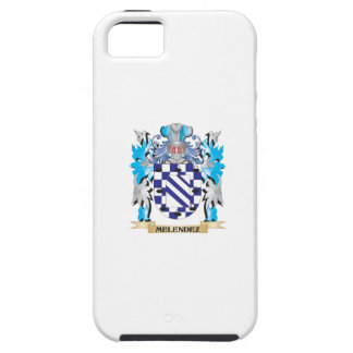 Escudo de armas de Melendez - escudo de la familia iPhone 5 Protectores