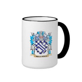 Escudo de armas de Melendez - escudo de la familia Tazas De Café