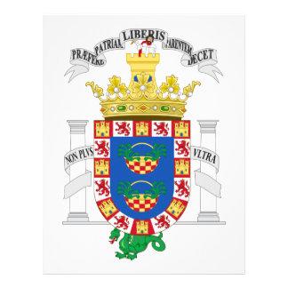 Escudo de armas de Melilla (España) Membrete