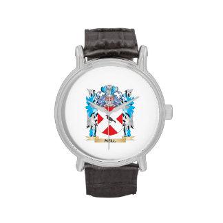 Escudo de armas de Mell - escudo de la familia Reloj