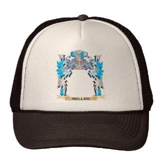 Escudo de armas de Mellon - escudo de la familia Gorra