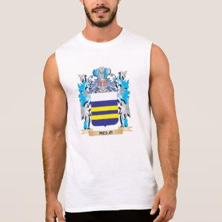 Escudo de armas de Melo - escudo de la familia Camisetas Sin Mangas
