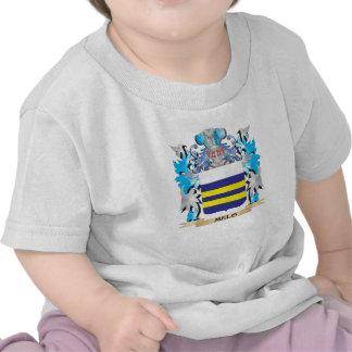 Escudo de armas de Melo - escudo de la familia Camisetas