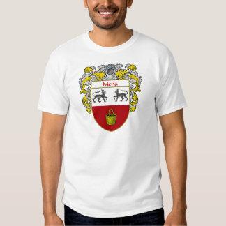 Escudo de armas de Mena (cubierto) Camisas