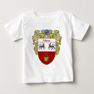 Escudo de armas de Mena (cubierto) Playera De Bebé