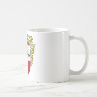 Escudo de armas de Mena (cubierto) Taza De Café