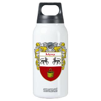 Escudo de armas de Mena/escudo de la familia Botella Isotérmica De Agua
