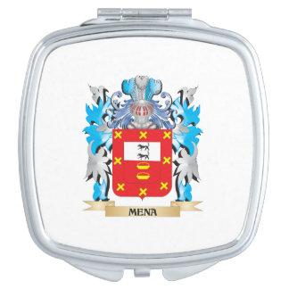 Escudo de armas de Mena - escudo de la familia Espejo De Maquillaje