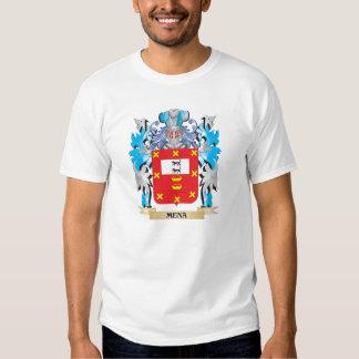 Escudo de armas de Mena - escudo de la familia Poleras