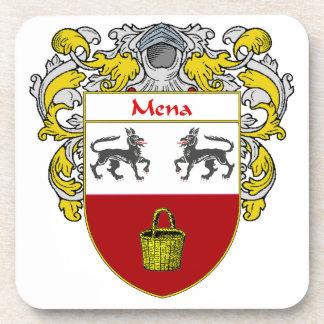 Escudo de armas de Mena/escudo de la familia Posavasos