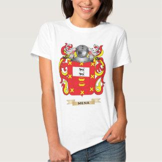 Escudo de armas de Mena (escudo de la familia) Remeras