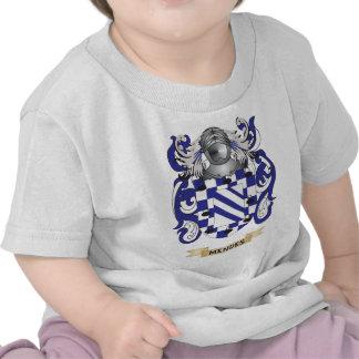 Escudo de armas de Mendes (escudo de la familia) Camisetas