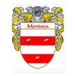 Escudo de armas de Mendoza (cubierto) Tarjeta Postal
