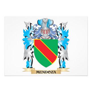 Escudo de armas de Mendoza - escudo de la familia Comunicado Personalizado
