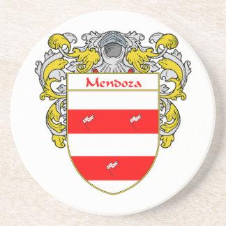 Escudo de armas de Mendoza/escudo de la familia Posavasos Cerveza