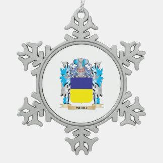 Escudo de armas de Merli - escudo de la familia Adorno