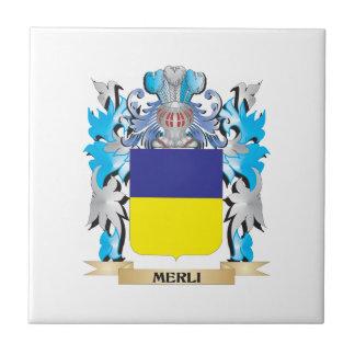 Escudo de armas de Merli - escudo de la familia Teja