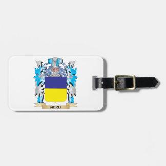 Escudo de armas de Merli - escudo de la familia Etiquetas De Maletas