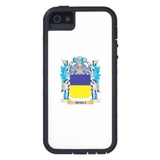 Escudo de armas de Merli - escudo de la familia iPhone 5 Carcasas