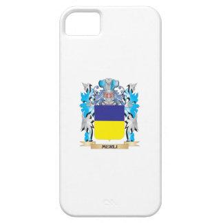 Escudo de armas de Merli - escudo de la familia iPhone 5 Case-Mate Carcasas