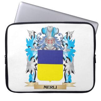 Escudo de armas de Merli - escudo de la familia Manga Portátil