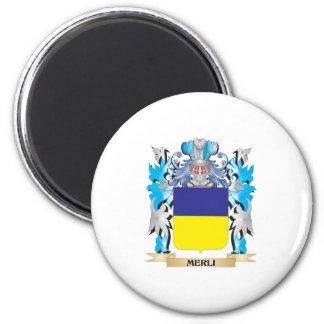 Escudo de armas de Merli - escudo de la familia Imán