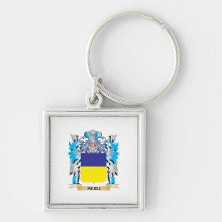Escudo de armas de Merli - escudo de la familia Llaveros Personalizados
