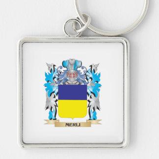 Escudo de armas de Merli - escudo de la familia Llavero