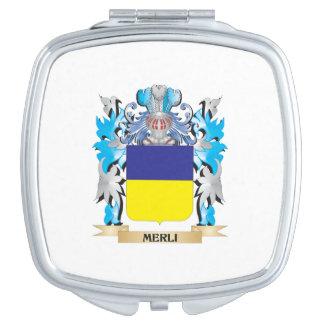Escudo de armas de Merli - escudo de la familia Espejo De Maquillaje