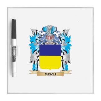 Escudo de armas de Merli - escudo de la familia Pizarra