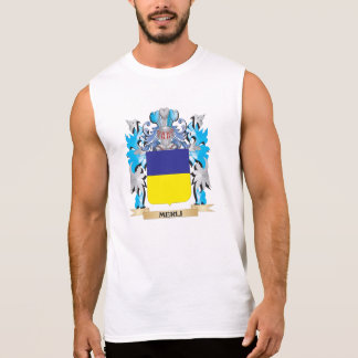 Escudo de armas de Merli - escudo de la familia Camiseta Sin Mangas