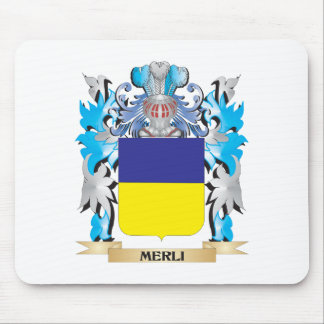 Escudo de armas de Merli - escudo de la familia Alfombrillas De Raton