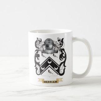 Escudo de armas de Merriam (escudo de la familia) Taza