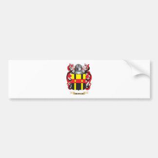 Escudo de armas de Merrick (Dublín) (escudo de la  Pegatina De Parachoque