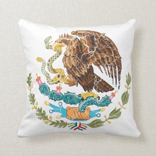 Escudo de armas de México Almohadas