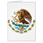 Escudo de armas de México Felicitacion