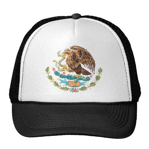 Escudo de armas de México Gorras