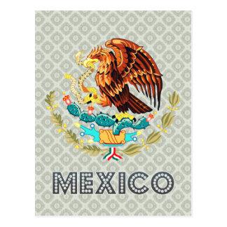Escudo de armas de México Postal