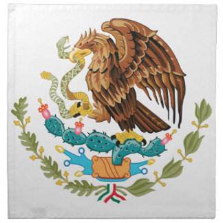 Escudo de armas de México Servilletas Imprimidas