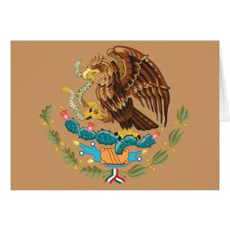 Escudo de armas de México Tarjeta Pequeña