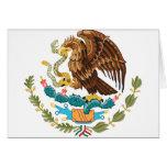 Escudo de armas de México Tarjeton