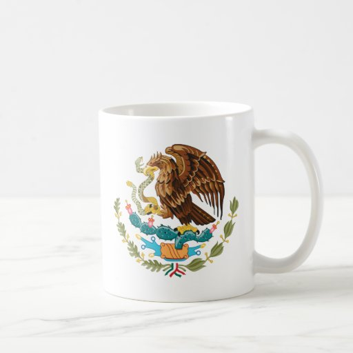 Escudo de armas de México Tazas De Café