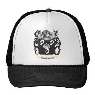 Escudo de armas de Micale (escudo de la familia) Gorras De Camionero